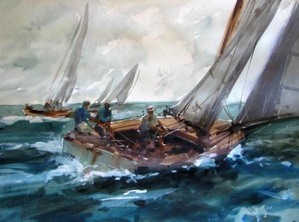 At sea by amanda hyatt