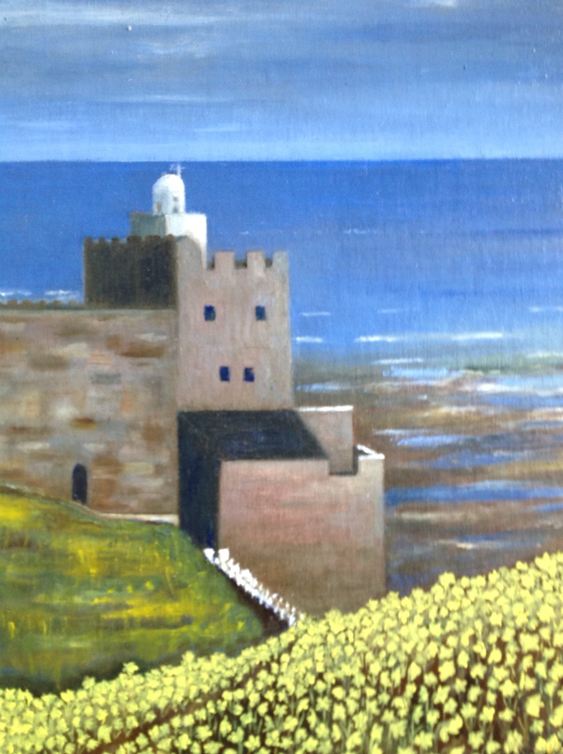 Francetta bridle. daffodils at jacob s ladder sidmouth  2