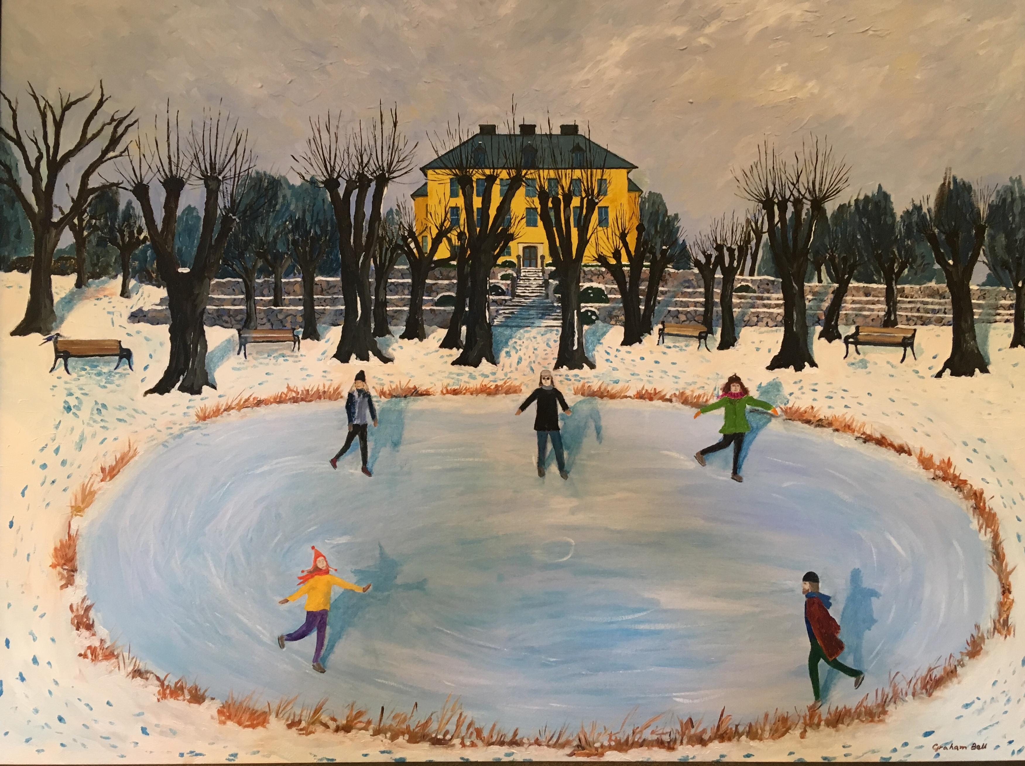 Bell skating at venngard