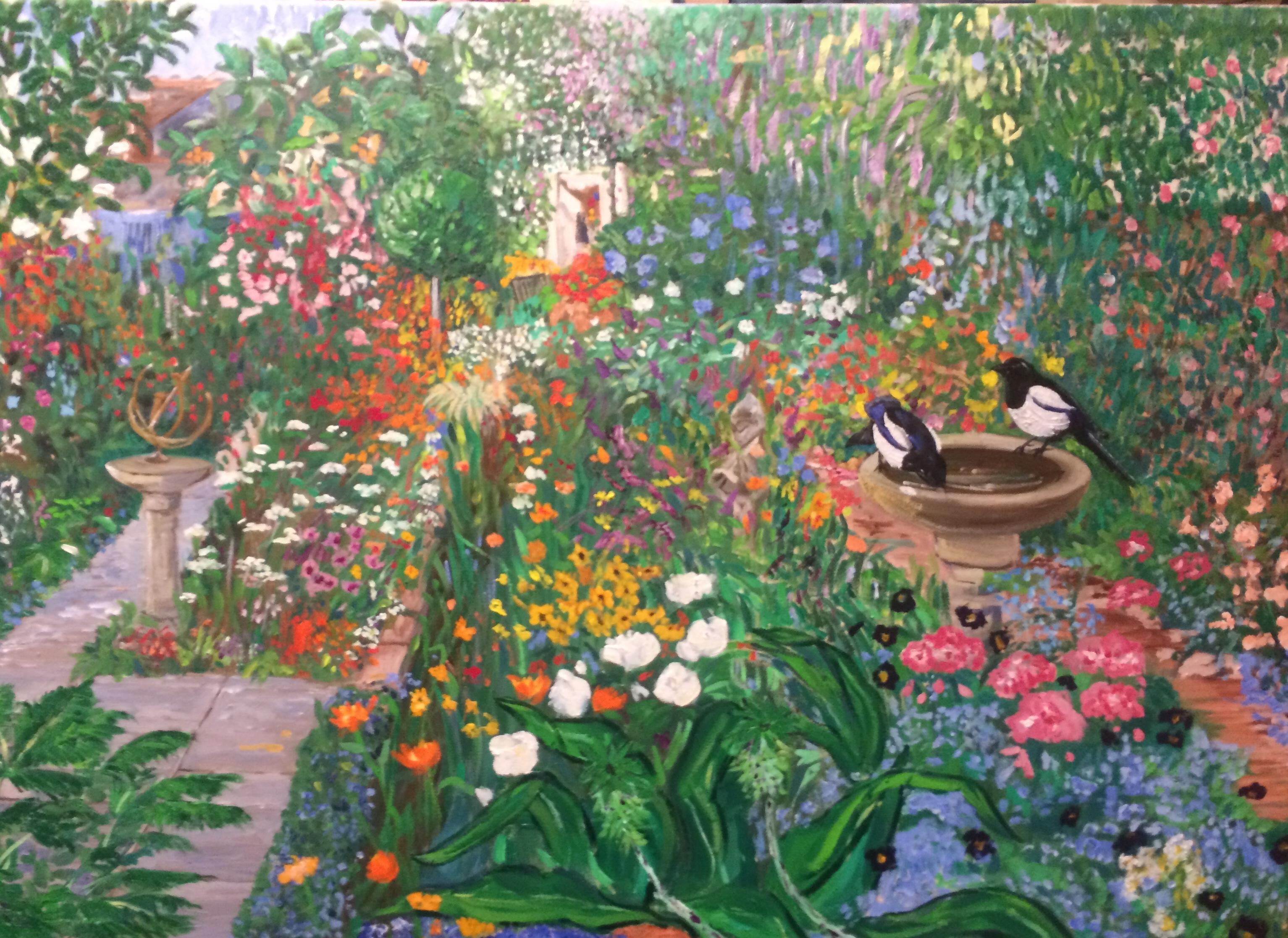Bell studio garden